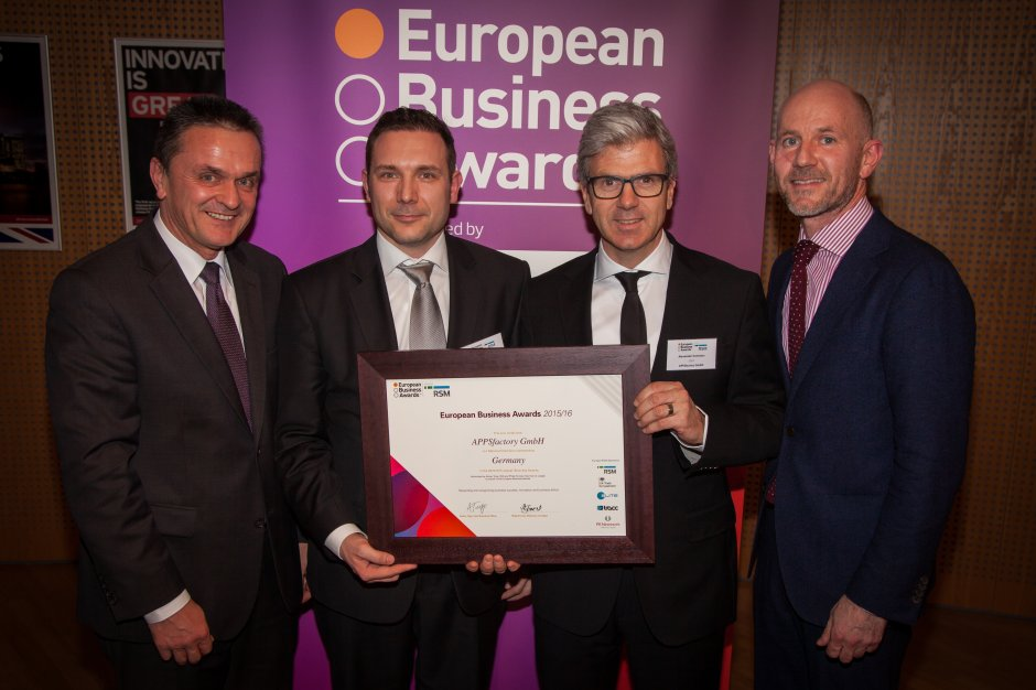 National Champion European Business Awards 2015/2016